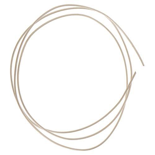 freneci Filo Rotondo In Argento 925 Puro Da 50 Cm Filo Per Artigianato E Gioielli Fai-da-te 0.4/0.5/0.6/0.7mm - 0,7 millimetri