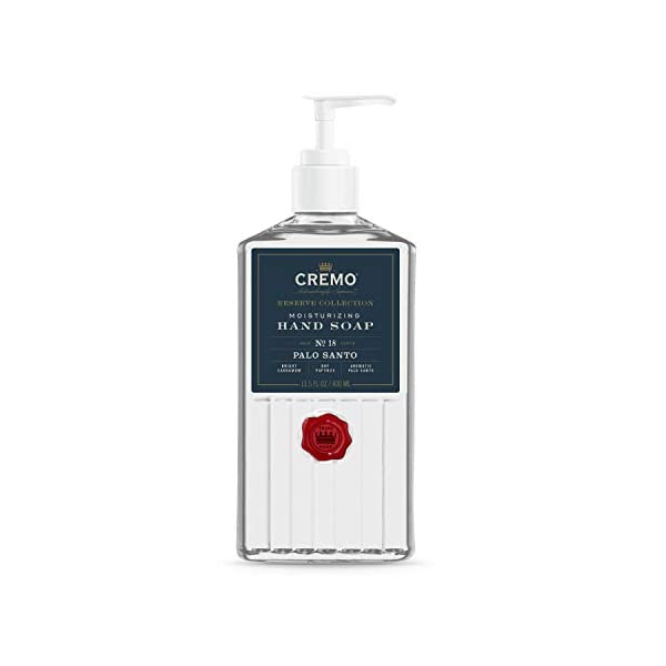 Cremo Palo Santo Reserve Collection Moisturizing Hand Soap, 13.5 Fluid Ounce - Thoroughly Cleanse Dirt & Oil 1