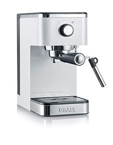 Graef ES401EU Salita Siebträger-Espressomaschine, 1400, weiß