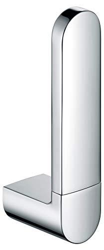 KEUCO Ersatz-Rollenhalter aus Metall, hochglanz-verchromt, WC-Rollenhalter für Badezimmer und Gäste-WC, 1 Rolle, Toilettenpapier-Halter, Elegance