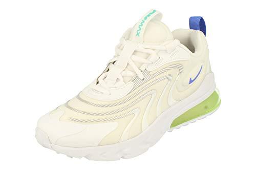 Nike Air Max 270 React ENG GS Running Trainers CZ4215 Sneakers Schuhe (UK 6 us 7Y EU 40, White Sapphire Laser orange 100)