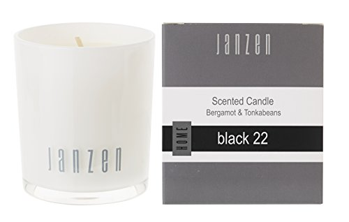 Janzen geurkaars zwart 22, per stuk verpakt (1 x 135 g)