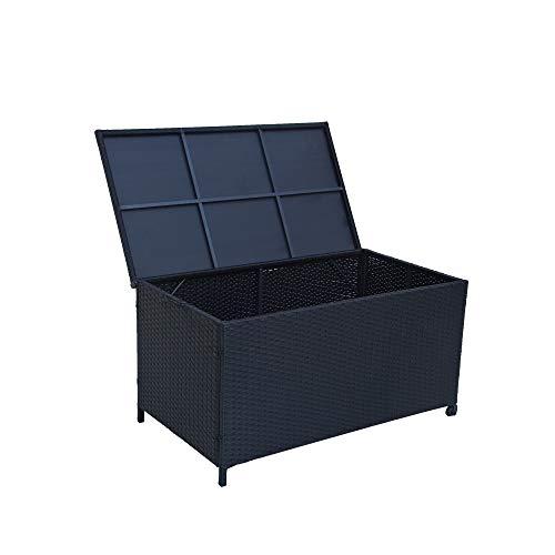 Garden Storage Box 320L Black