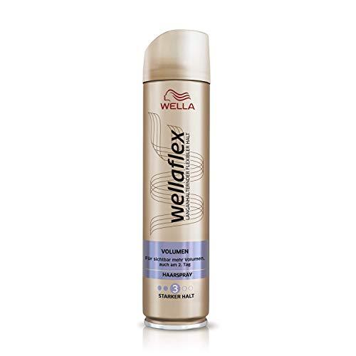 Wellaflex Haarspray Volumen starker Halt, 6er Pack (6 x 250 ml)