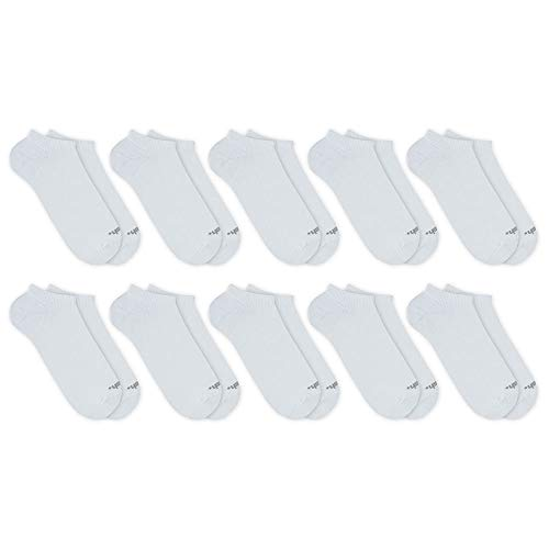 Kit 10 Pares de Meia Invisível, Mash, Masculino, Branco, 39-44