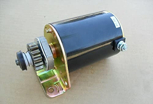 14 Tooth Starter Motor Replacement For 38' 42' Craftsman John Deere Poulan Troy bilt Riding Lawn Mower Tractor With Briggs Stratton 20 hp Intek 21.5 HP twin 17 17.5 18 18.5 18.5 19 19.5 20 HP Engine