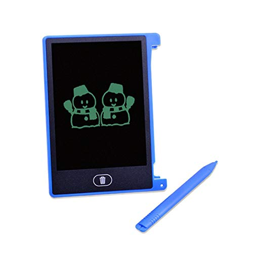 MXECO 4.4 Pulgadas Pantalla LCD eléctrica Pad de Escritura Digital Niños Pad de Dibujo Tablero de Escritura a Mano Tablero eléctrico portátil para el hogar