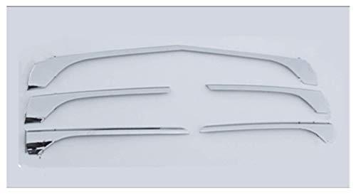 ZNZZJ Rejillas de Rejilla Frontal embellecedor ABS Cromado Accesorios de Coche Auto Estilo Compatible para Mercedes-Benz Vito 2016 2017 2018