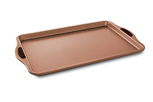 Nordic Ware Freshly Baked Cookie Sheet, 10' x 15', Copper