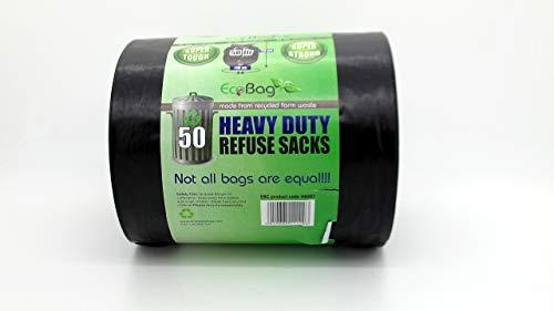 Bolsas De Basura 10L Negras Marca EcoBag