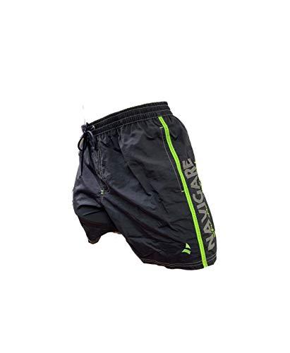 Navigare Boxer Mare Costume Uomo Pantaloncini da Bagno Swim Short Anche in Taglie conformate (Antracite 098354, XL)