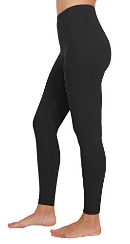 90 Degree By Reflex Ankle Length High Waist Power Flex Leggings – 7/8 Tummy Control Yoga Pants