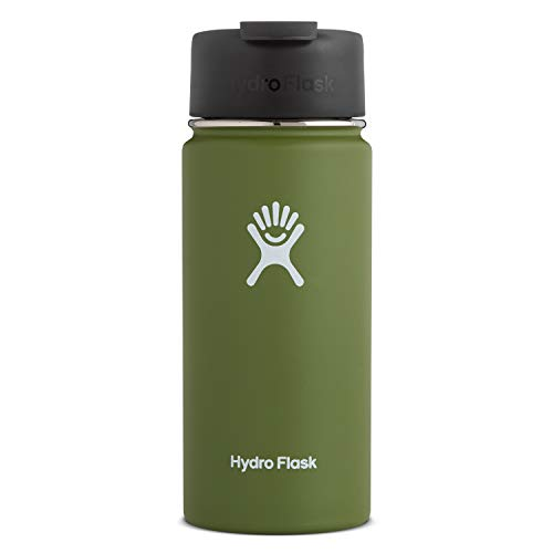 Hydro Flask Travel Coffee Flask - 16 oz, Olive