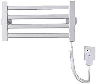 SYN-GUGAI Radiador de Toallas de calefacción eléctrica, pequeño toallero calefactado de Panel Plano montado en la Pared, Potencia 45W ~ 271W, Voltaje 220V Riel de Toalla con calefacción Central,size1
