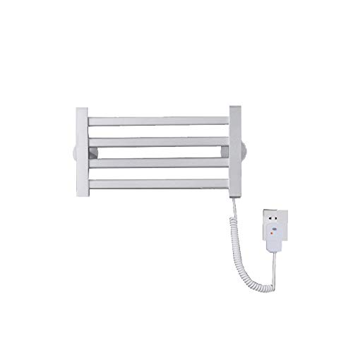 SYN-GUGAI Radiador de Toallas de calefacción eléctrica, pequeño toallero calefactado de Panel...