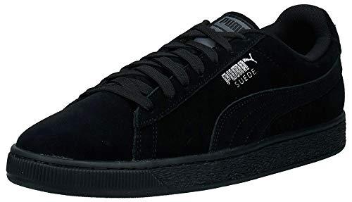 Puma Herren Suede Classic+ Sneaker, Schwarz (Black-Dark Shadow), 44.5 EU