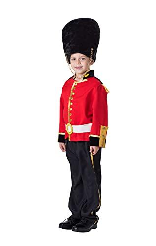 Dress Up America Guardia Real de Vestuario para los nios - Nios Soldado de Juguete Juego de Vestuario