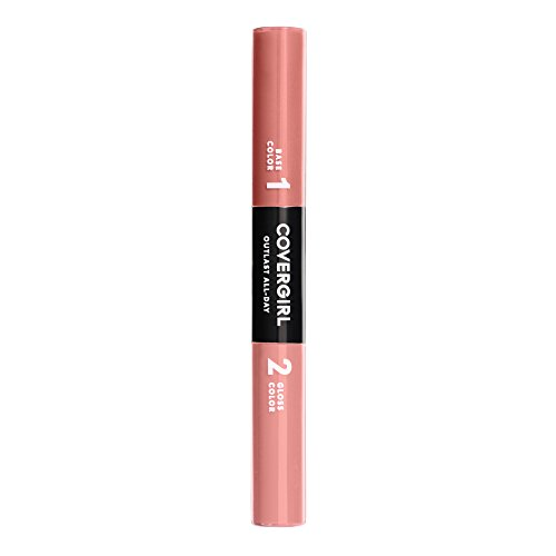 Covergirl Outlast All-day Color & Lip Gloss Nude Intensity, 0.2 Ounce Cover Girl Outlast All Day Lip Color
