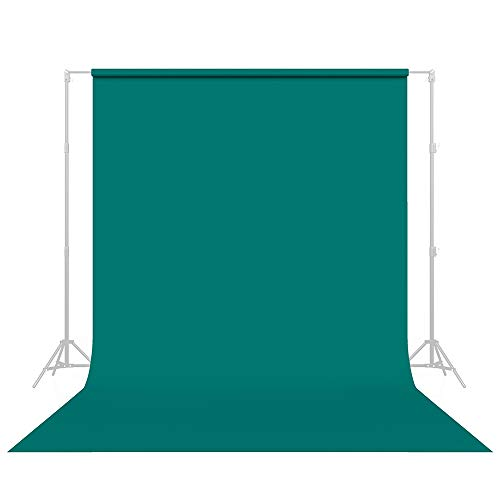 Savage Seamless Paper Photography Backdrop - #68 Teal (107 in x 36 ft) Made in USA