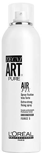 L'Oréal Professionnel TecniART Air Fix, Extra-strong fixing spray Haarspray für extra starken Halt, Haltegrad 5, 250 ml
