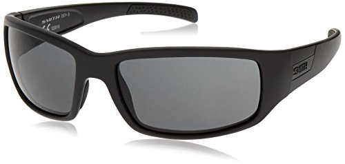 Smith Optics Elite Prospect Tactical Sunglass, Gray, Black