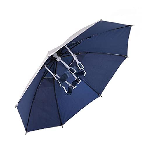 Liadance Pesca Paraguas De La Cabeza del Sombrero del Paraguas para Adultos...