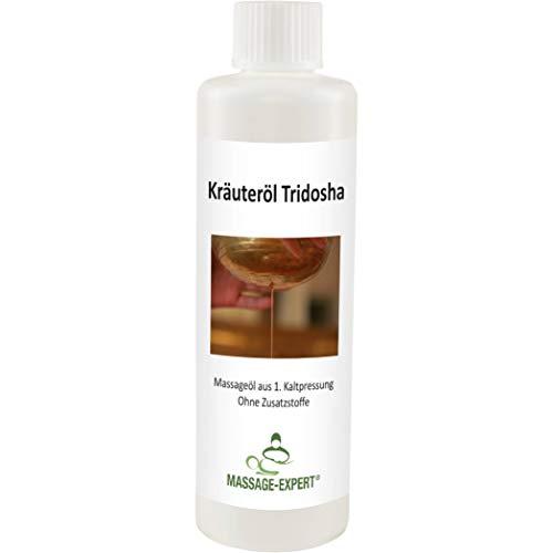 Ayurveda-Kräuteröl Tridosha von MASSAGE-EXPERT, erste Kaltpressung, 250 ml
