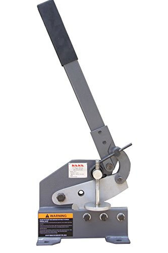 KAKA HS-5 5-Inch Sheet Metal Plate Shear, Solid Construction Mounting Type...