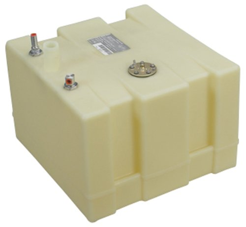 Moeller Marine 032515, Below Deck Permanent Fuel Tank, 15 Gallon - 17.75 in. L x 18.50 in. W x 15.25 in. H
