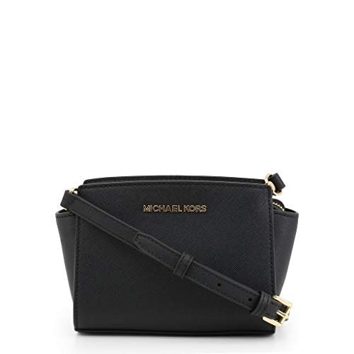 Michael Kors Selma Mini Saffiano Leather Crossbody Bag