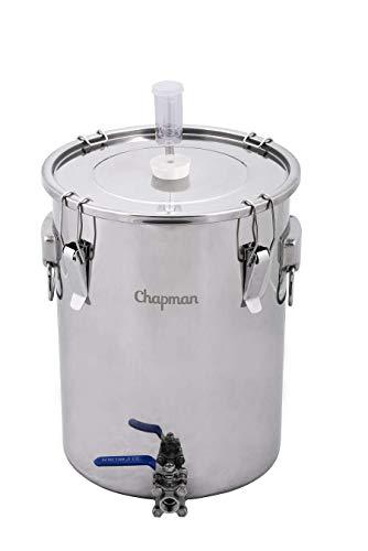 Chapman Brewing Equipment 7 Gallon Stainless Steel UniVessel Brew Fermenter