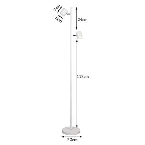 Wandlantaarn, wandlamp van kristalglas, wandlamp, spiegel, LED-lamp, verlichting met touchscreen, voor verlichting op kantoor, verlichting 046 1234, mm Wit.