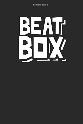 Beatboxer Journal: 100 Pages | Graph Paper Grid Interior | Beat Box Rap Rapping Sound Hobby Microphone Beats Team Rapper Beatboxers Gift Mic Music