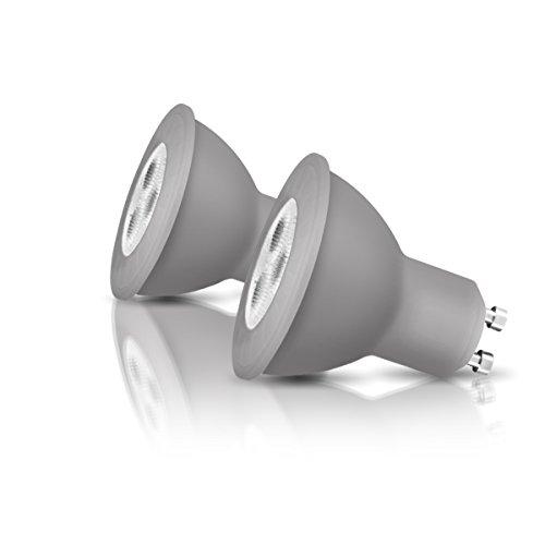 OSRAM LED-Reflektorlampe GU10 Retrofit PAR16 / 4W - 35 Watt-Ersatz, LED-Spot / matt, warmweiß - 2700K, Blister 2er Pack