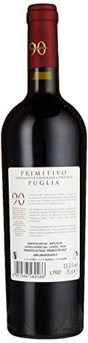 Novantaceppi Primitivo Puglia IGT Halbtrocken, 750 ml - 2