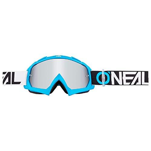 O'NEAL B10 Twoface Goggle Goggle MX DH Brille blau/Mirror silberfarben Oneal
