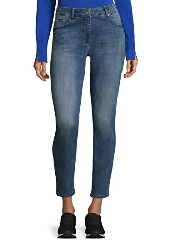 Betty Barclay 6005/1065 Jeans Straight, Blu (Middle/Blue/Denim 8619), 40 (Taglia Produttore: 34) Donna