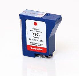 Pitney Bowes Compatible K700,K7M0 RED Ink 797-0