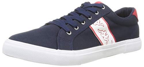 Kappa Sakao, Zapatillas Deportivas Para Mujer, Azul Marino/Rojo, 42 Eu