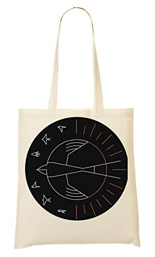 Swallow The Sun Artwork Design Art Tragetasche Einkaufstasche
