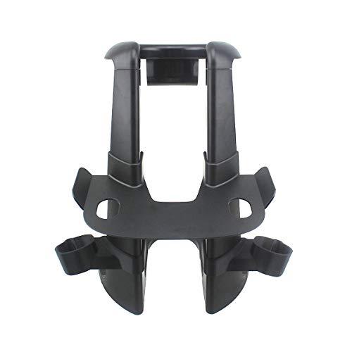 AFAITH VR Controller Halter und Ständer, Virtual Reality Headset Ständer für HTC Vive Kopfhörer und HTC Vive Pro Headset (Schwarz) (VR Nicht Enthalten)
