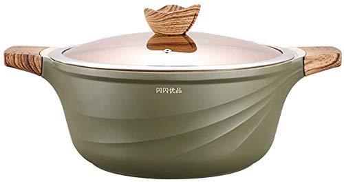Stone Soup Pot Pot van de Soep pan met antiaanbaklaag Binaural grote capaciteit gestoofde kip Pot 28cm