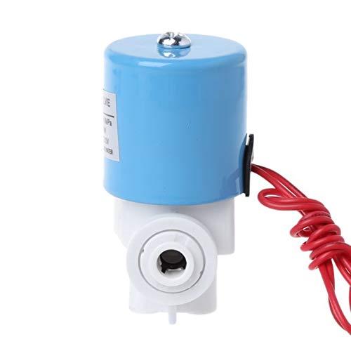 HLY Trading Válvula solenoide de Entrada de Agua de conexión rápida Piezas de la máquina de Agua Pura 12V 24V (Voltage : 24V)