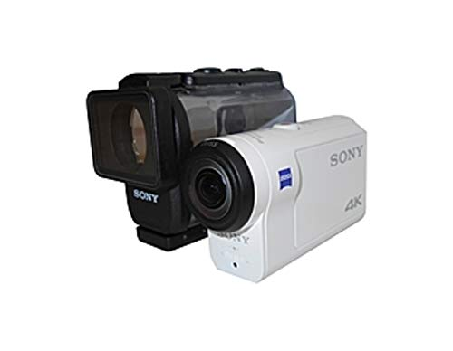 Sony FDR-X3000/W 8.2 Megapixels Under Water 4K Action Camera - f17 mm Lens - White (Certified Refurbished)