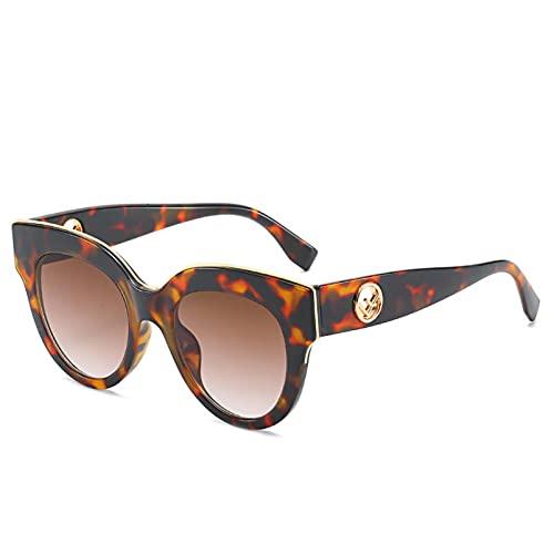 AMFG Gafas de sol de moda de ojos de moda Gafas de sol Femeninas Sombrillas de sol salvajes Viajes Sombra de verano al aire libre (Color : F)