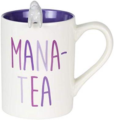 Enesco Our Name is Mud Mana Tea Mug and Spoon Set 16 oz Multicolor product image