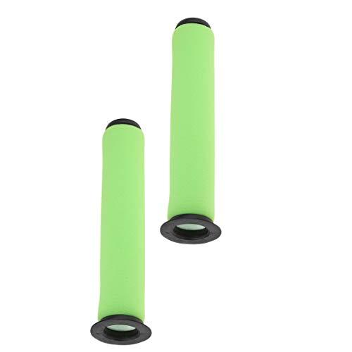 perfk 2 Uds Filtro de Aspiradora de Palo Verde para Dyson Gt