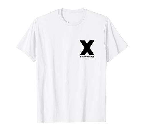 X Straight Edge Hardcore Punk Bewegung Geschenk T-Shirt