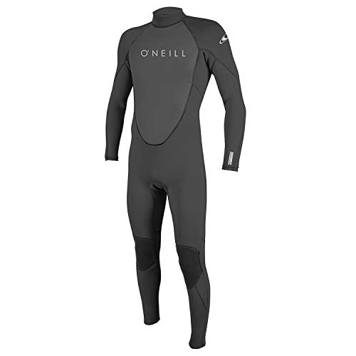 O'Neill Traje de neopreno para hombre Reactor-2 3/2 mm Back Zip Full (S, grafito)
