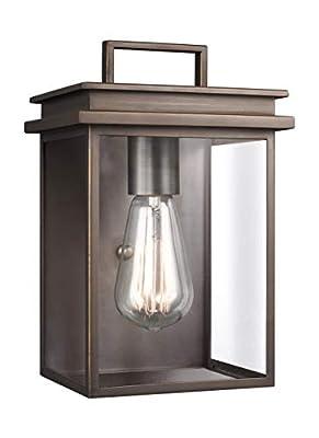 Feiss OL13600ANBZ One Light Outdoor Wall Lantern